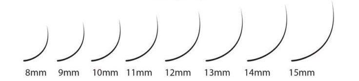 Eyelash Extensions Lengths
