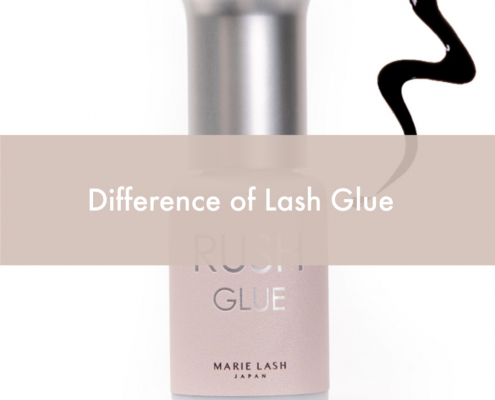 Lash Glue adhesive difference