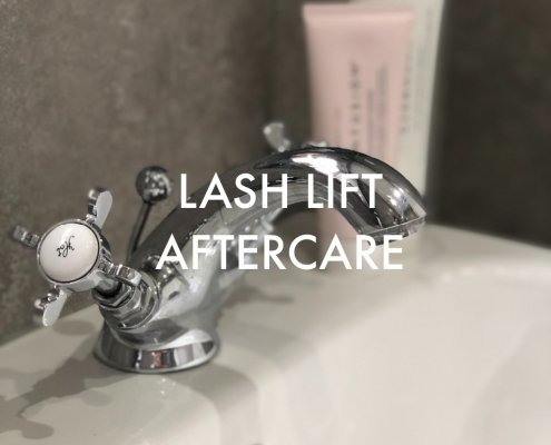 LASH LIFT AFTERCARE