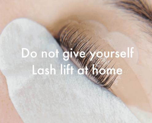 lash lift yourself